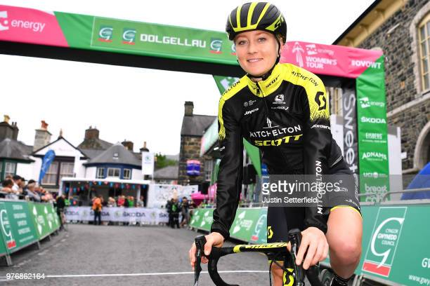 Start / Gracie Elvin of Australia and Team MitcheltonScott / during the 5th OVO Energy Women's Tour 2018 Stage 5 a 122km stage from Dolgellau to...