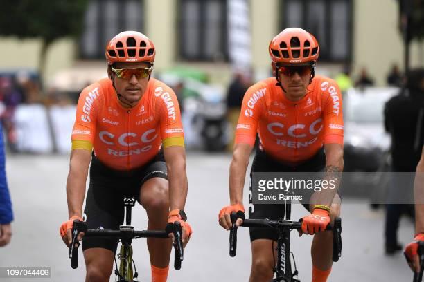 Start / Greg Van Avermaet of Belgium and CCC Team / Alessandro De Marchi of Italy and CCC Team / Paterna City / during the 70th Volta a la Comunitat...