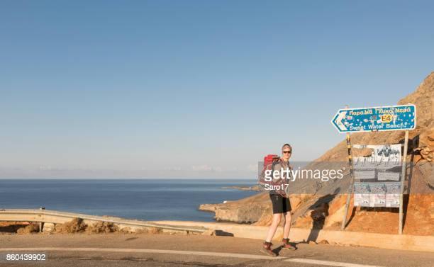 Starten Sie wandern von Chora Sfakion, Crete.