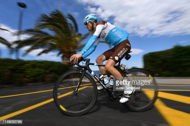 Start / Hubert Dupont of France and Team AG2R La Mondiale / during the 102nd Giro d'Italia 2019, Stage 4 a 235km stage from Orbetello to Frascati...