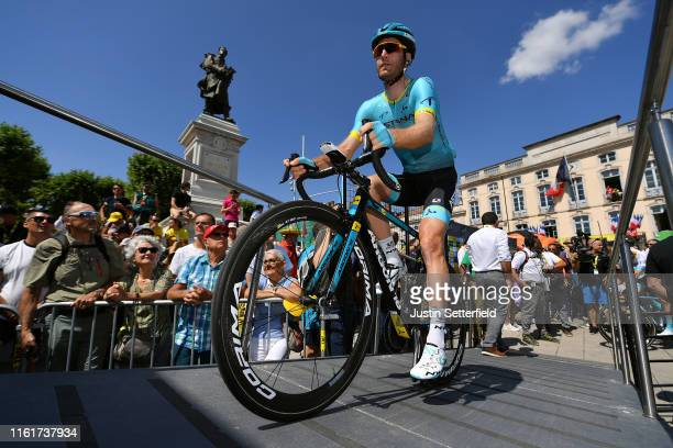 Start / Hugo Houle of Canada and Astana Pro Team / Mâcon City / Fans / Public / during the 106th Tour de France 2019, Stage 8 a 200km stage from...