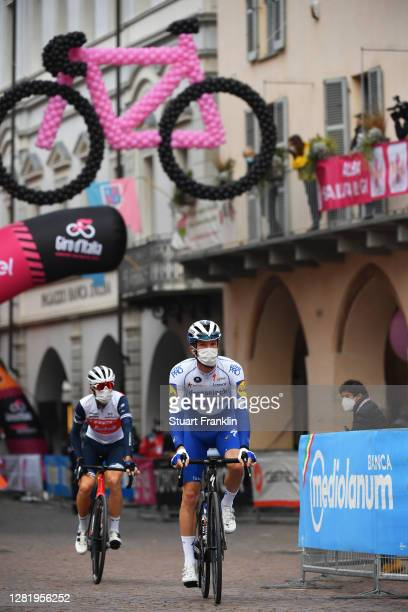 Start / Iljo Keisse of Belgium and Team Deceuninck - Quick-Step / Alba Village / during the 103rd Giro d'Italia 2020, Stage 20 a 190km stage from...