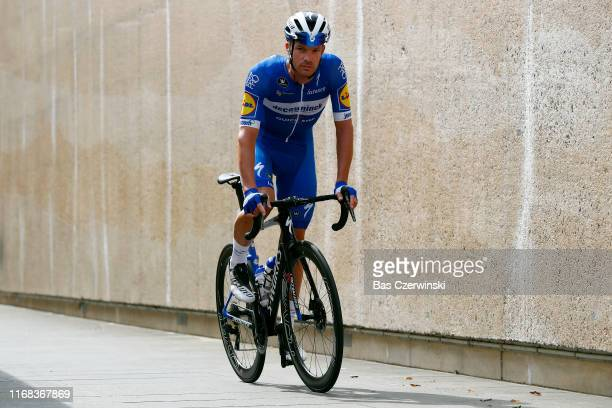 Start / Iljo Keisse of Belgium and Team Deceuninck-QuickStep / during the 15th Binck Bank Tour 2019, Stage 5 a 191,4km stage from Riemst to Venray /...