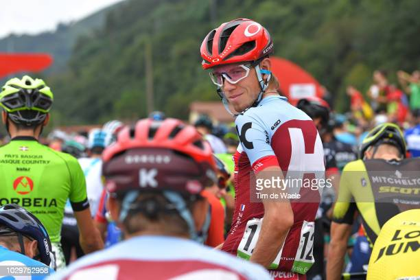 Start / Ilnur Zakarin of Russia and Team Katusha Alpecin / during the 73rd Tour of Spain 2018, Stage 15 a 178,2km stage from Ribera de Arriba to...