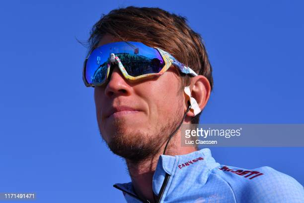 Start / Ilnur Zakarin of Russia and Team Katusha Alpecin / during the 83rd Bretagne Classic Ouest-France 2019 a 248,1km stage from Plouay to Plouay /...