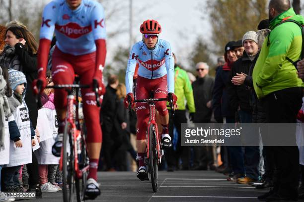 Start / Ilnur Zakarin of Russia and Team Katusha Alpecin / Fans / Public / during the 77th Paris - Nice 2019, Stage 3 a 200km stage from Cepoy to...