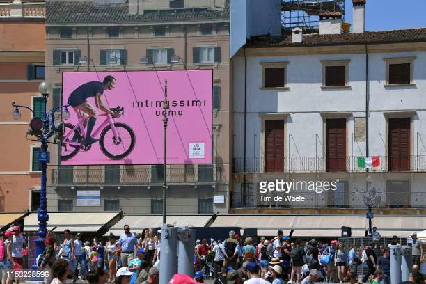 Start / Ivan Basso of Italy Ex ProCyclist / Verona City / Intimissimi Uomo Giro d'italia Jersey /during the 102nd Giro d'Italia 2019 Stage 21 a 17km...