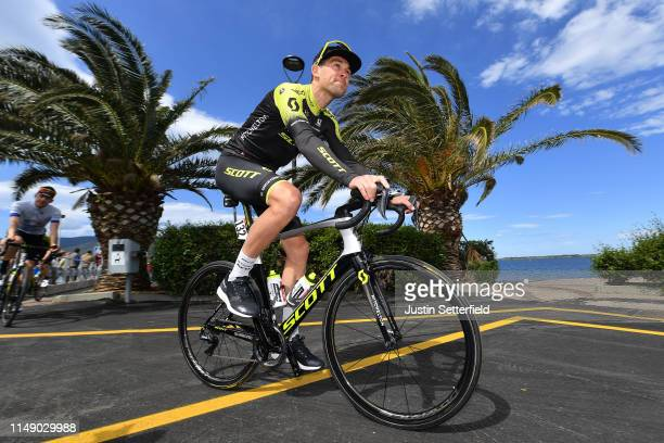 Start / Jack Bauer of New Zealand and Team Mitchelton - Scott / during the 102nd Giro d'Italia 2019, Stage 4 a 235km stage from Orbetello to Frascati...