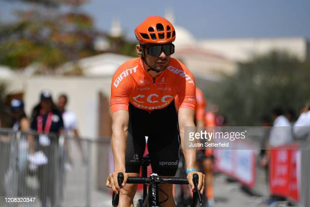 Start / Jakub Mareczko of Italy and CCC Team / during the 6th UAE Tour 2020, Stage 2 a 168km stage from Hatta to Hatta Dam 419m / #UCIWT / #UAETour /...