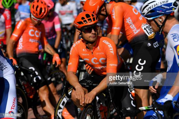 Start / Jakub Mareczko of Italy and CCC Team / during the 75th Tour of Spain 2020, Stage 10 a 185km stage from Castro Urdiales to Suances / @lavuelta...