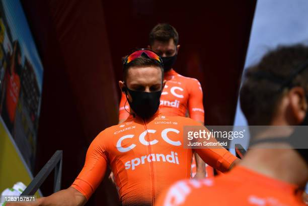 Start / Jakub Mareczko of Italy and CCC Team / Villaviciosa Village / Team Presentation / during the 75th Tour of Spain 2020, Stage 11 a 170km stage...
