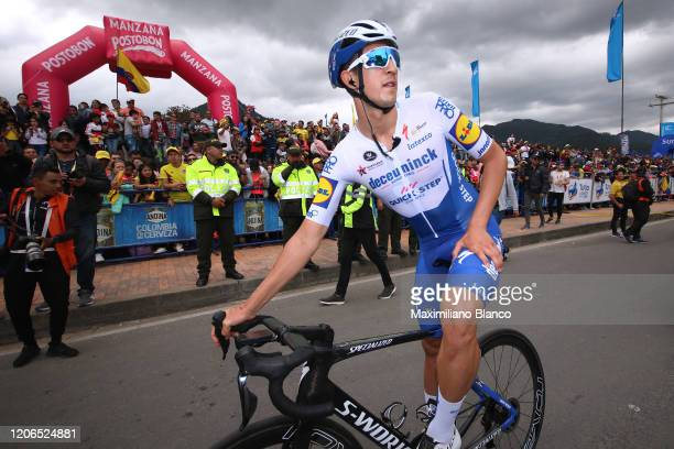 Start / Jannik Steimle of Germany and Team Deceuninck - Quick Step / during the 3rd Tour of Colombia 2020, Stage 5 a 180,5km stage from Paipa to...