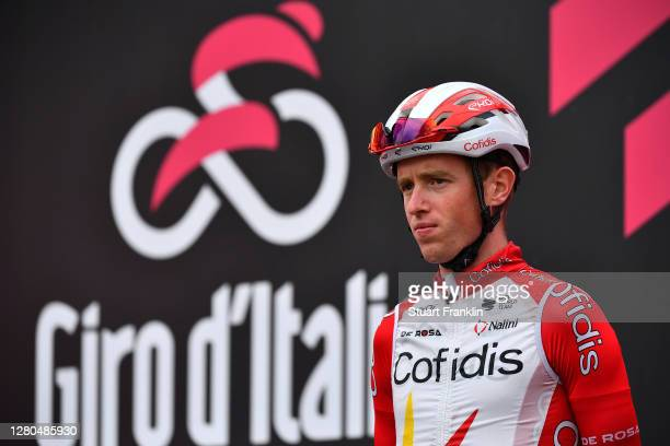 Start / Jesper Hansen of Denmark and Team Cofidis Solutions Credits / Cervia Village / during the 103rd Giro d'Italia 2020, Stage 13 a 192km stage...