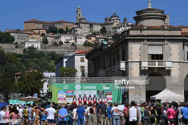 Start / Jesus Herrada Lopez of Spain, Fernando Barcelo Aragon of Spain, Jesper Hansen of Denmark, Jose Herrada Lopez of Spain, Mathias Le Turnier of...