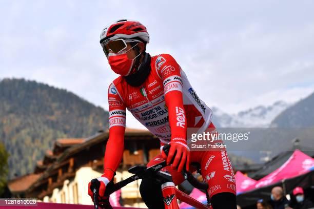 Start / Jhonatan Restrepo Valencia of Colombia and Team Androni Giocattoli - Sidermec / Pinzolo Village / during the 103rd Giro d'Italia 2020, Stage...