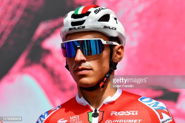 Start / Jhonatan Restrepo Valencia of Colombia and Team Androni Giocattoli - Sidermec / during the 103rd Giro d'Italia 2020, Stage 2 a 149km stage...