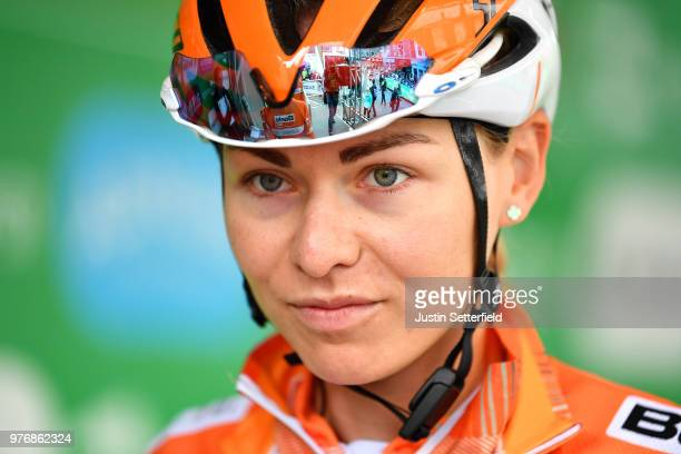 Start / Jip Van Den Bos of The Netherlands and Boels Dolmans Cycling Team / during the 5th OVO Energy Women's Tour 2018 Stage 5 a 122km stage from...