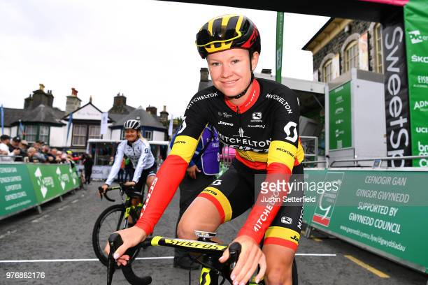 Start / Jolien DHoore of Belgium and Team MitcheltonScott / during the 5th OVO Energy Women's Tour 2018 Stage 5 a 122km stage from Dolgellau to...