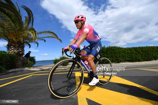 Start / Jonathan Klever Caicedo Cepeda of Ecuador and Team EF Education First / during the 102nd Giro d'Italia 2019, Stage 4 a 235km stage from...