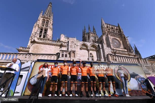 Start / Juan Jose Lobato del Valle of Spain, Mikel Aristi Gardoki of Spain, Julen Irizar Laskurain of Spain, Mikel Bizkarra Etxegibel of Spain,...