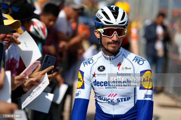 Start / Julian Alaphilippe of France and Team Deceuninck - Quick Step / during the 3rd Tour of Colombia 2020, Stage 5 a 180,5km stage from Paipa to...