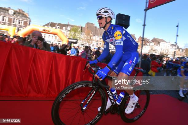 Start / Julian Alaphilippe of France and Team QuickStep Floors / during the 53rd Amstel Gold Race 2018 a 263km race from Maastricht to Berg en...