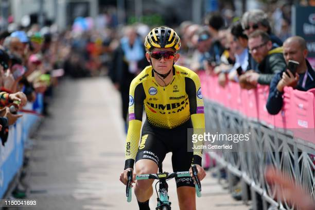 Start / Koen Bouwman of The Netherlands and Team Jumbo - Visma / Public / Fans / during the 102nd Giro d'Italia 2019, Stage 8 a 239km stage from...