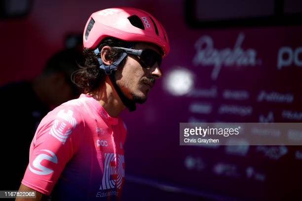 Start / Lachlan Morton of Australia and Team EF Education First / during the 15th Larry H Miller Tour of Utah 2019 Stage 1 a 1399km stage from North...
