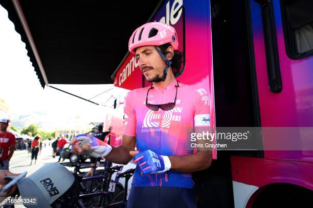 Start / Lachlan Morton of Australia and Team EF Education First / during the 15th Larry H Miller Tour of Utah 2019 Stage 2 a 1382km stage from...