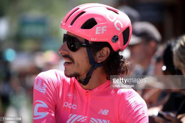 Start / Lachlan Morton of Australia and Team EF Education First / during the 15th Larry H Miller Tour of Utah 2019 Stage 5 a 128km stage from Canyons...