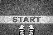 Start line freedom journey