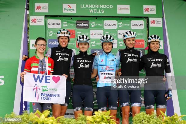 Start / Lizzie Elizabeth Armitstead-Deignan of United Kingdom and Team Trek - Segafredo Blue HSBC UK British Cycling best British rider jersey / Abi...