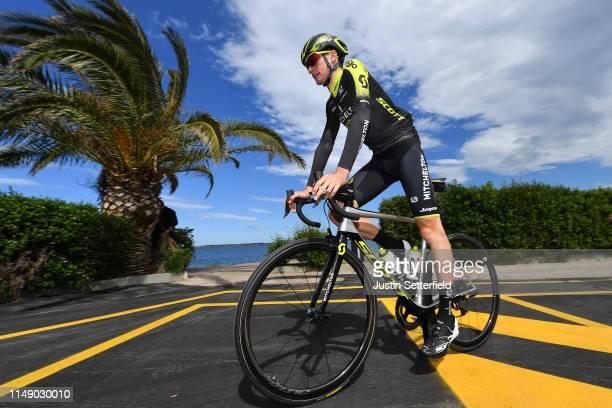 Start / Lucas Hamilton of Australia and Team Mitchelton - Scott / during the 102nd Giro d'Italia 2019, Stage 4 a 235km stage from Orbetello to...