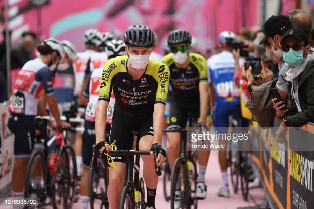 Start / Lucas Hamilton of Australia and Team Mitchelton - Scott / Mileto City / during the 103rd Giro d'Italia 2020, Stage 5 a 225km stage from...