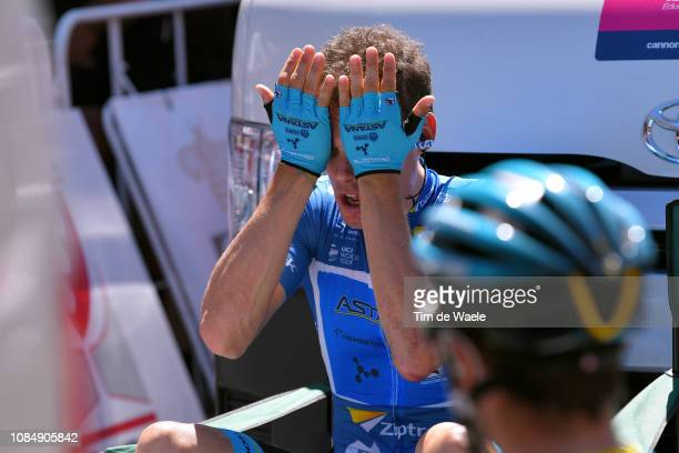 Start / Luis León Sánchez of Spain and Astana Pro Team Blue Sprint Jersey / during the 21st Santos Tour Down Under 2019, Stage 5 a 149,5km stage from...