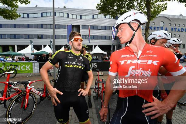 Start / Luke Durbridge of Australia and Team Mitchelton - Scott / Ryan Mullen of Ireland and Team Trek-Segafredo / during the 14th BinckBank Tour...