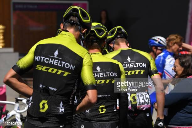 Start / Luke Durbridge of Australia and Team Mitchelton - Scott / Valdaora Village / Detail view / aduring the 102nd Giro d'Italia 2019, Stage 18 a...