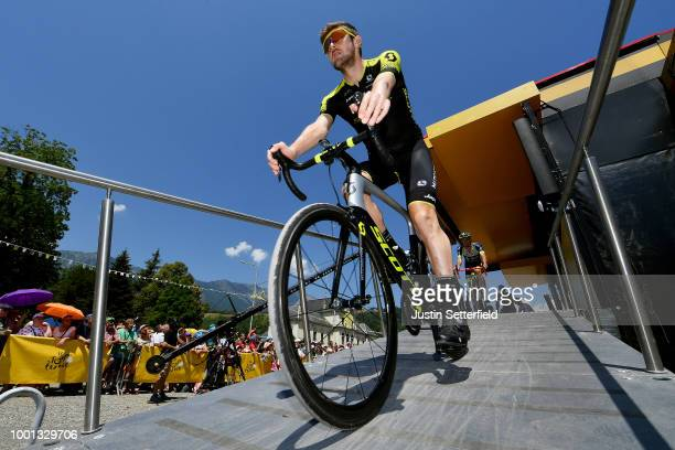Start / Luke Durbridge of Australia and Team MitcheltonScott / during the 105th Tour de France 2018 Stage 11 a 1085km stage from Albertville to La...