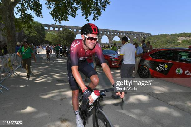 Start / Luke Rowe of United Kingdom and Team INEOS / Pont du Gard Bridge / during the 106th Tour de France 2019, Stage 17 a 200km stage from Pont du...