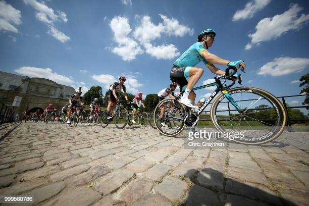 Start / Magnus Cort Nielsen of Denmark and Astana Pro Team /during the 105th Tour de France 2018 Stage 9 a 1565 stage from Arras Citadelle to Roubaix...