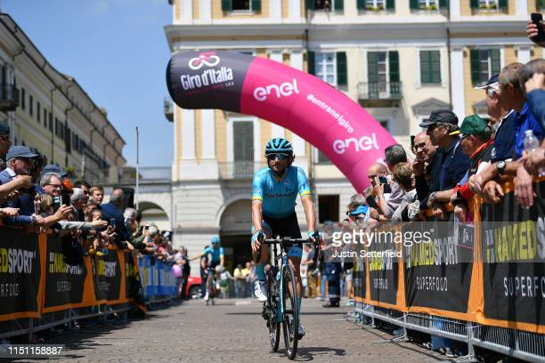 Start / Manuele Boaro of Italy and Astana Pro Team / Cuneo City / Fans / Public / during the 102nd Giro d'Italia 2019 Stage 12 a 158km stage from...