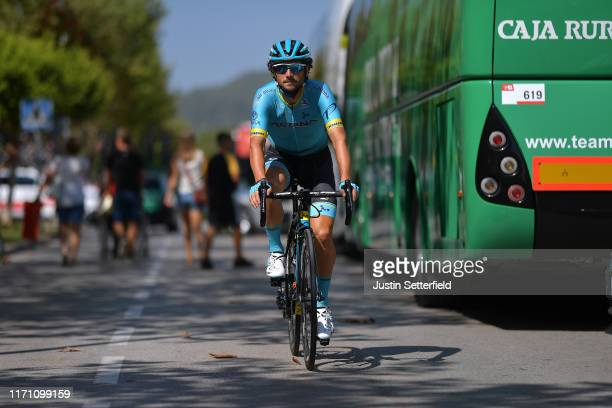 Start / Manuele Boaro of Italy and Astana Pro Team / during the 74th Tour of Spain 2019 Stage 7 a 1791km stage from Onda to Mas de La Costa 985m /...