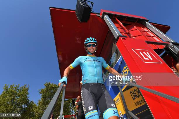 Start / Manuele Boaro of Italy and Astana Pro Team / Onda City / during the 74th Tour of Spain 2019 Stage 7 a 1791km stage from Onda to Mas de La...
