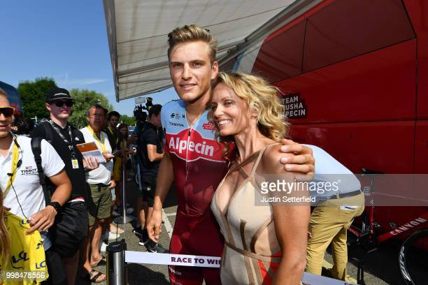 Start / Marcel Kittel of Germany and Team Katusha / Fans / Public / during the 105th Tour de France 2018 Stage 8 a 181km stage from Dreux to Amiens...