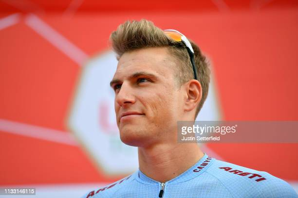 Start / Marcel Kittel of Germany and Team KatushaAlpecin / during the 5th UAE Tour 2019 Stage 7 a 145km stage from Dubai Safari Park to Dubai City...