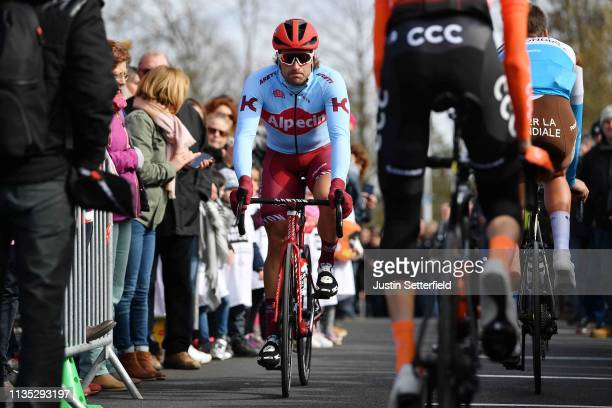 Start / Marco Haller of Austria and Team Katusha Alpecin / Fans / Public / during the 77th Paris - Nice 2019, Stage 3 a 200km stage from Cepoy to...