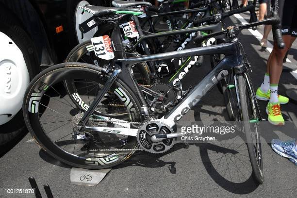 Start / Mark Cavendish of Great Britain and Team Dimension Data / Bike / during the 105th Tour de France 2018 Stage 11 a 1085km stage from...