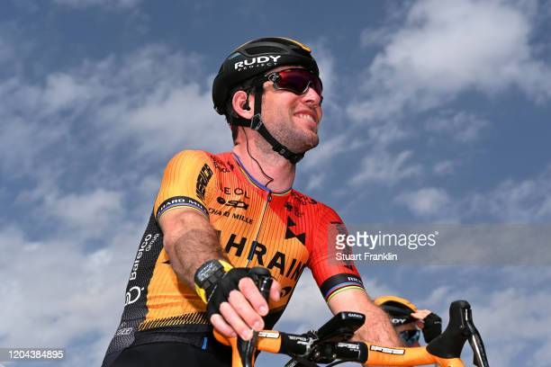 Start / Mark Cavendish of United Kingdom and Team Bahrain-Mclaren / King Saud University / during the 1st Saudi Tour 2020, Stage 3 a 119km stage from...