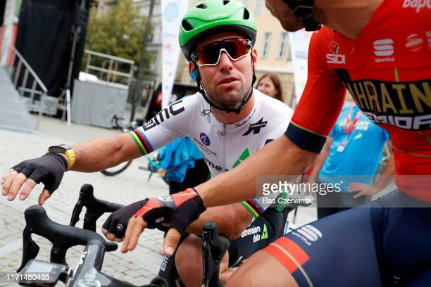 Start / Mark Cavendish of United Kingdom and Team Dimension Data / during the 34th Deutschland Tour 2019 Stage 4 a 1599km stage from Eisenach to...