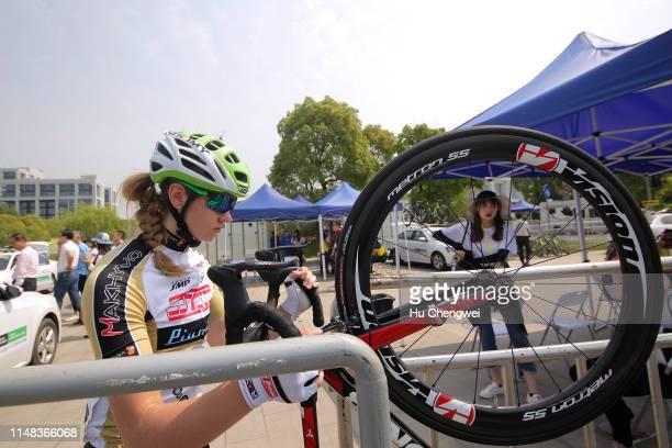 Start / Marketa Hajkova of Czech Republic and Team Servetto Piumate Beltrami TSA / during the 13th Tour of Chongming Island 2019 Stage 3 a 1184km...